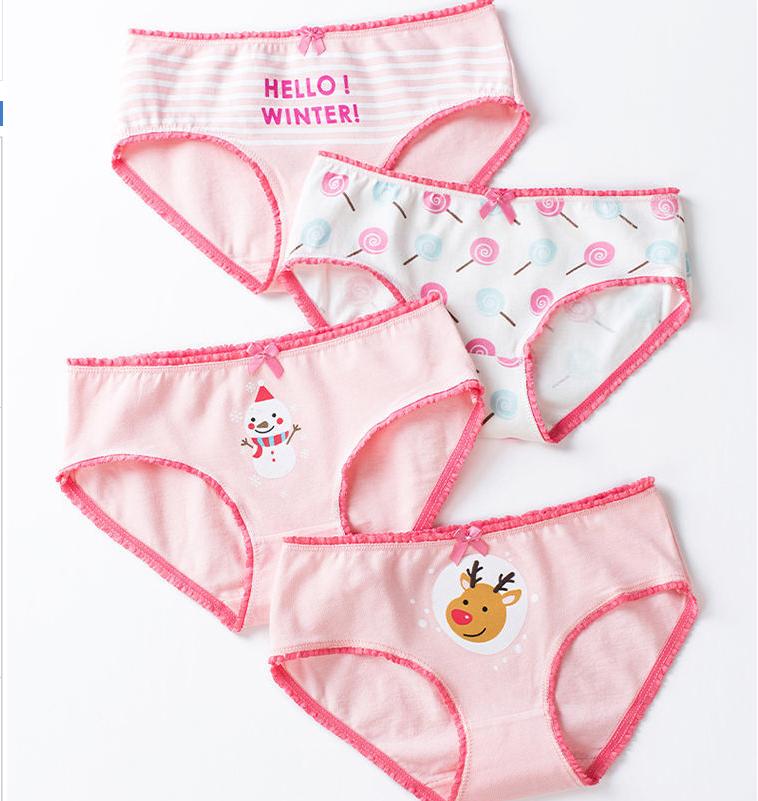 女童内裤纯棉儿童三角婴儿中大童短裤宝宝小女孩面包裤中小童学生