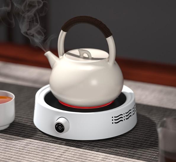 新德隆电陶炉茶炉煮茶小型家用静音迷你泡茶壶 非电磁炉