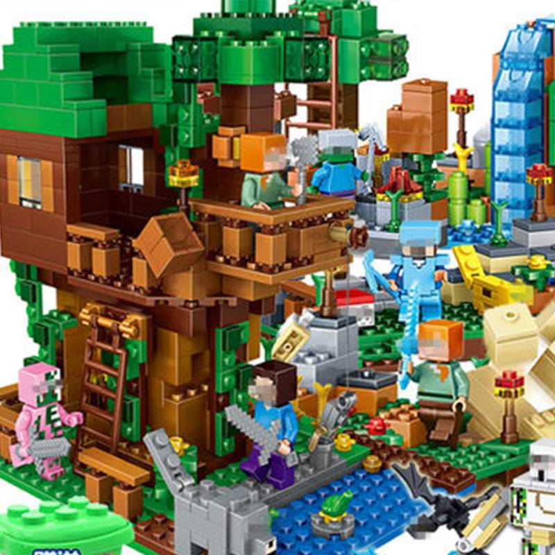 兼容乐高我的世界儿童益智积木幻影忍者积木玩具拼装图男孩小颗粒