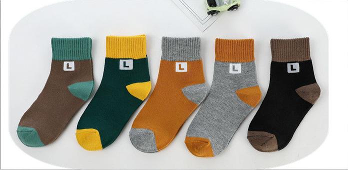儿童袜子春秋冬厚款保暖孩子男女童小中大童学生中筒四季宝宝袜子