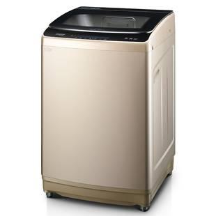 美的洗衣机全自动租房家用热烘干洗脱一体小