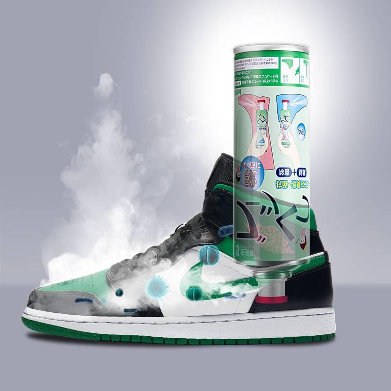 日本施多康鞋子除臭喷雾鞋袜除臭剂球鞋防臭脚臭鞋柜除味抑菌神器