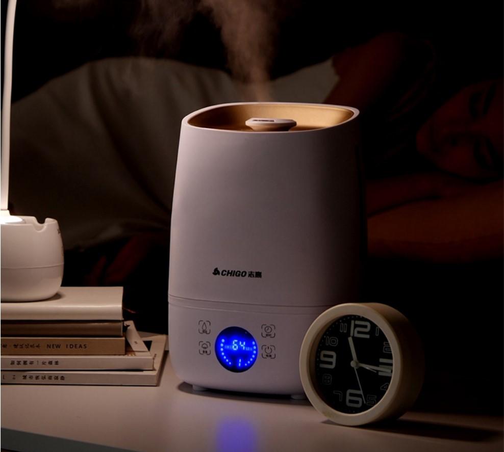 全新升级智能加湿器静音大喷雾容量空调卧室内孕妇婴儿空气香薰机