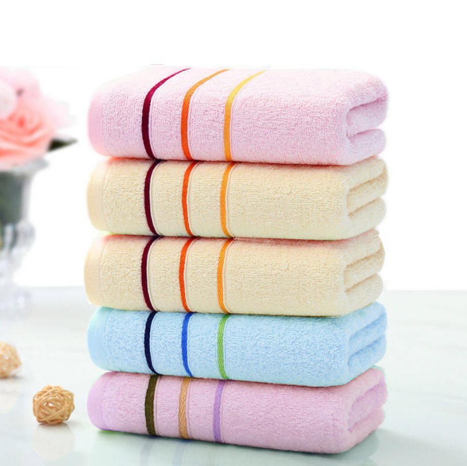 5条装吸水毛巾纯棉 洗脸不掉毛男女成人家用柔软舒适全棉面巾