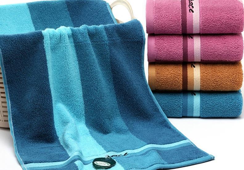 3条洁丽雅毛巾纯棉成人洗脸巾吸水不掉毛家用学生洗脸毛巾大