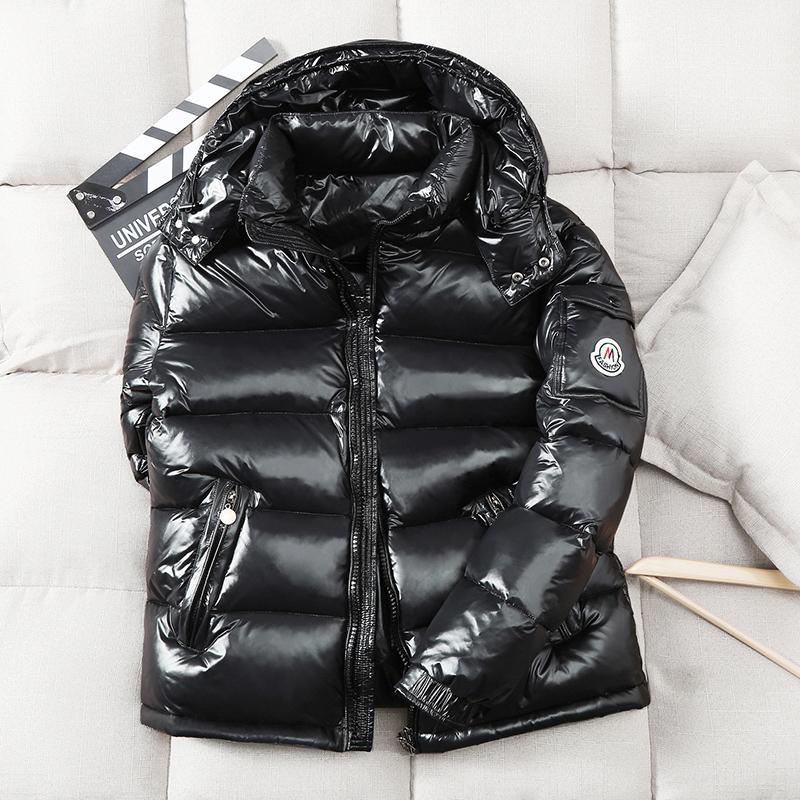 羽绒服2020年新款男潮牌短款加厚白鸭绒保暖工装帅气外套男冬季