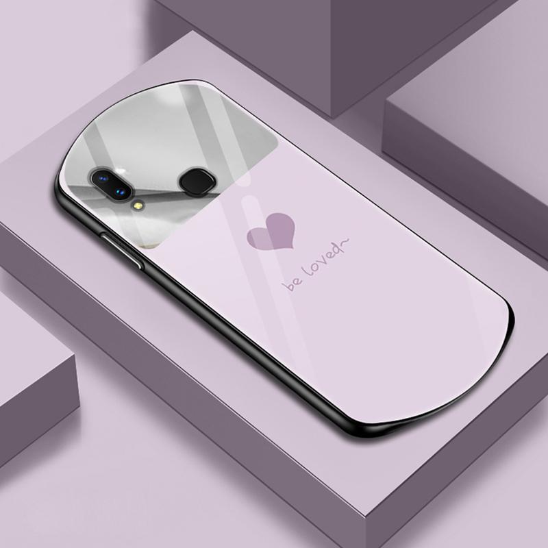 vivox21手机壳vivo X21a补妆镜子vivox21ud前指纹VIV0x21a后指纹vovi x21uda弧形玻