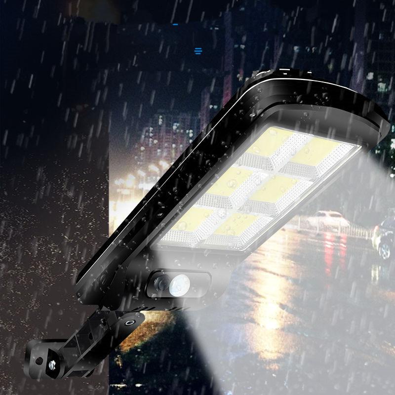 太阳能灯户外庭院灯超亮壁灯家用户外新农村照明路灯人体感应路灯