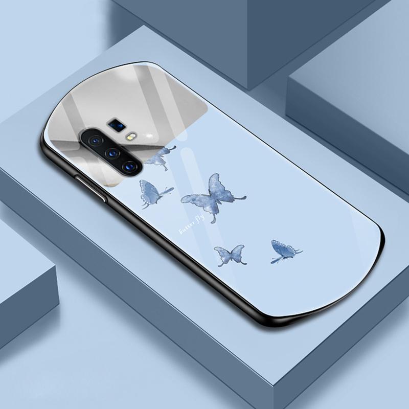 vivox30手机壳vivo x30pro 5g创意化妆镜v1938ct弧形玻璃vivox30pro硅胶vovix30潮