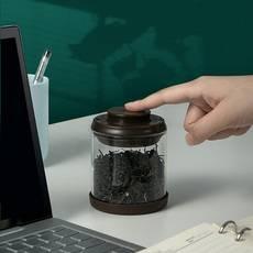 安扣创意个性迷你茶叶罐
