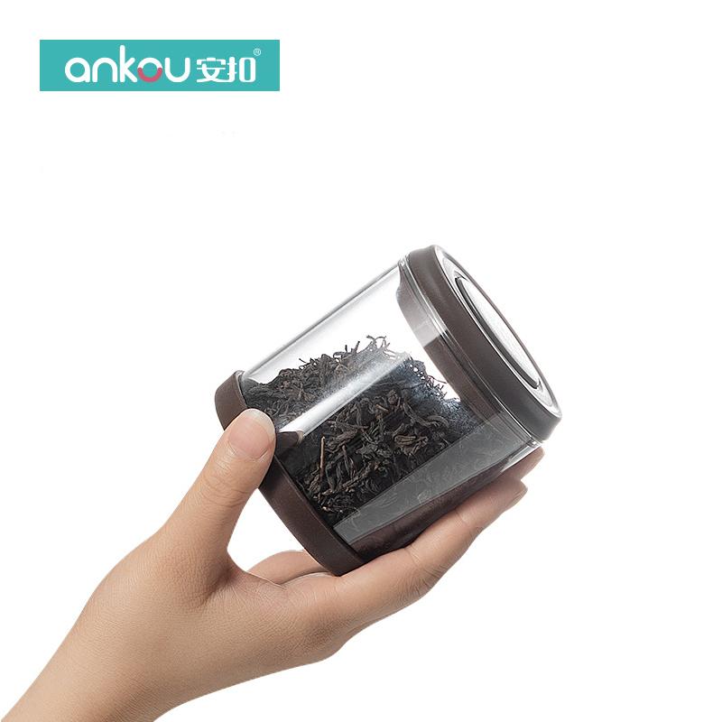 安扣创意个性时尚迷你精致茶叶罐便携小号随身装普洱茶叶罐密封罐