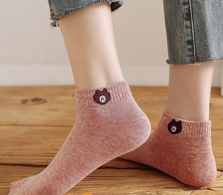 【买10送10双】韩版袜子女浅口隐形船袜女学生四季棉袜子夏季短袜