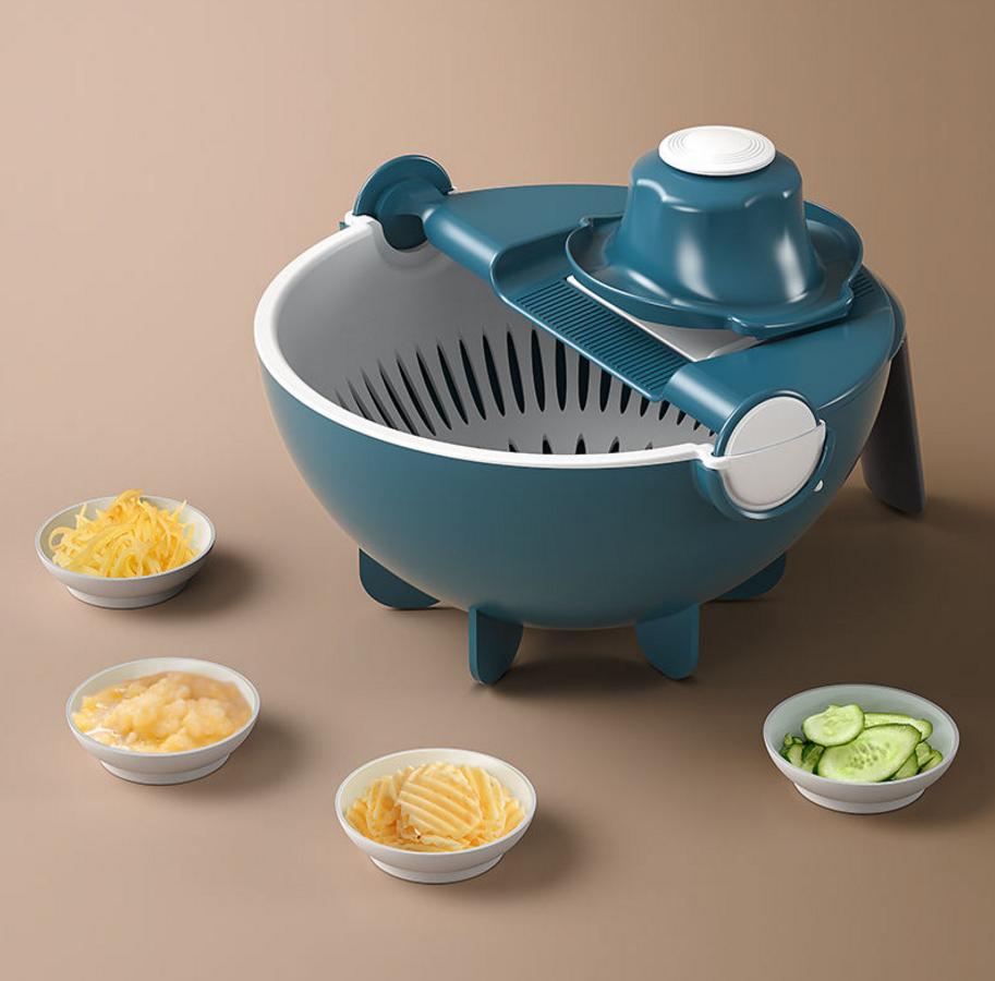 厨房用品多功能切菜神器土豆丝切丝器家用擦刨丝器具洗菜沥水篮