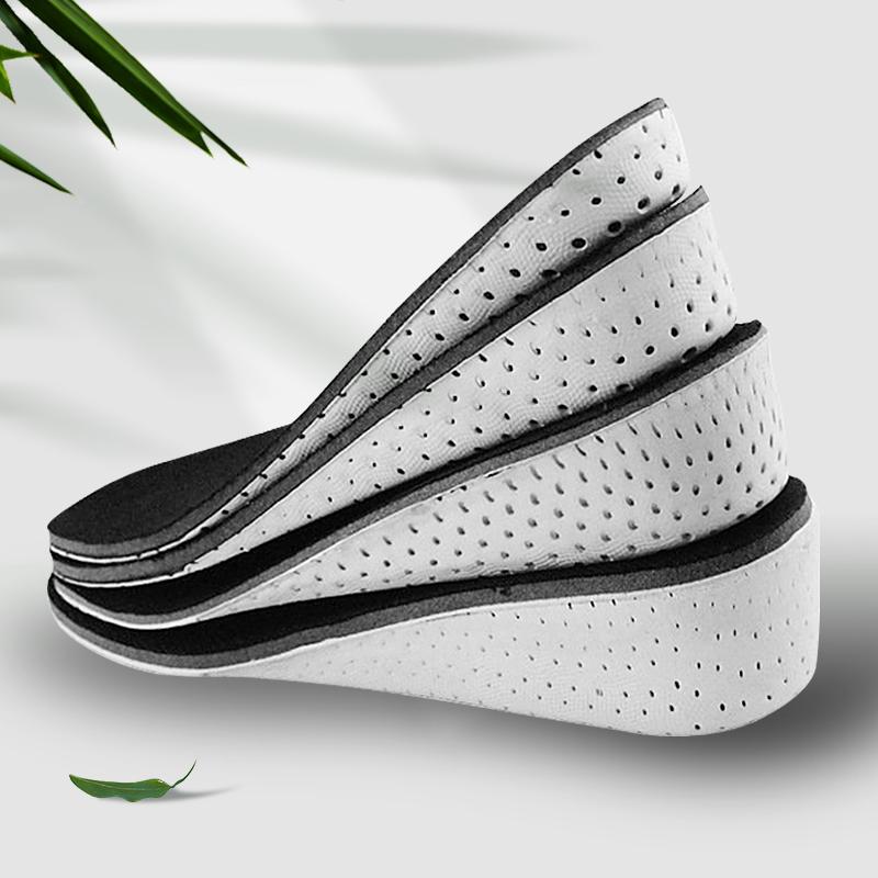 隐形增高鞋垫男女记忆棉缓冲减震增高软底透气鞋垫耐穿全掌垫