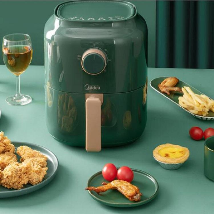 美的空气炸锅家用智能新款特价全自动电炸锅烤箱一体多功能大容量