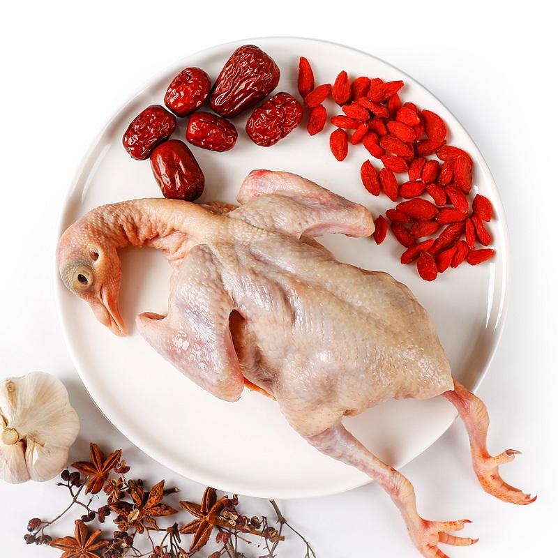 富硒乳鸽3只鸽子农家散养新鲜鸽子活体现杀鸽子肉老生鲜空运包邮