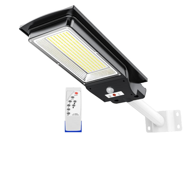 新款 600W太阳能灯庭院灯家用户外农村大功率LED人体感应灯路灯