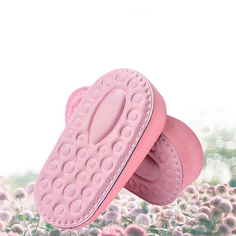 隐形内增高鞋垫女舒适透气运动吸汗半垫增高神器减震后跟垫增高垫