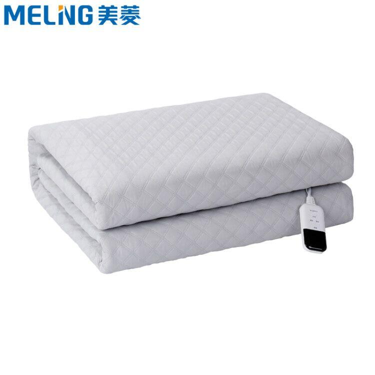 美菱水暖毯电热毯日本网红款自动断电智能恒温定时防水安全电褥子