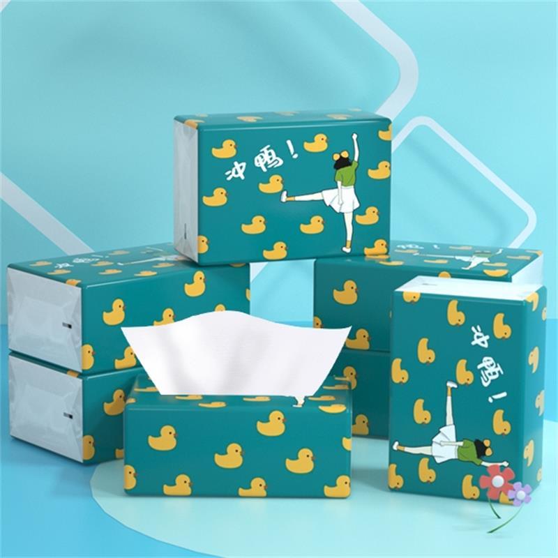 包邮蓝漂本色4层16包纸巾抽纸家用卫生纸整箱批发