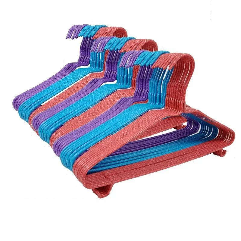 【加粗加厚】成人衣架子晾晒衣服衣架落地卧室衣架挂家用防滑衣架