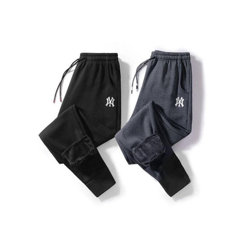 【高品质】加绒加厚水貂绒男运动休闲裤