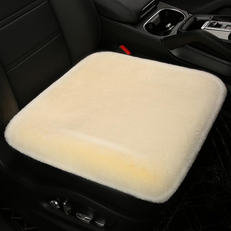 汽车坐垫冬季毛绒单片座垫靠背三件套冬天保暖加厚座垫套椅子垫