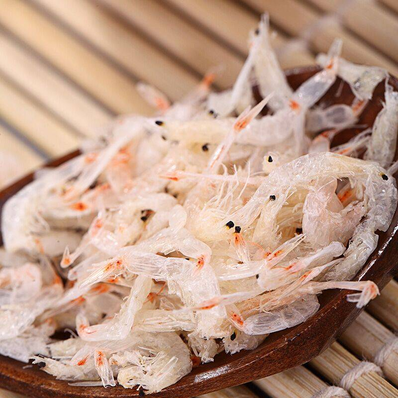 舟山特产海鲜产品即食淡干虾皮干货250g 宝宝婴幼儿辅食休闲零食