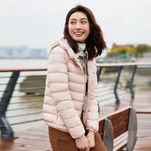 【618预售】高梵旗舰店 情侣石墨烯短款羽绒服