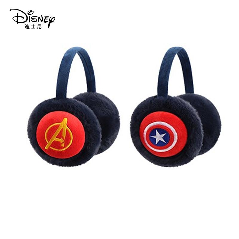 迪士尼儿童耳罩冬保暖耳暖男童护耳套小学生蜘蛛侠耳捂耳包耳套男