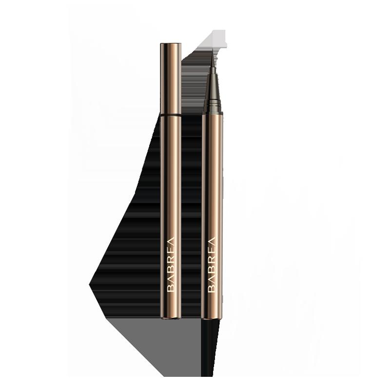 芭贝拉官方旗舰店巴贝拉眼线笔液笔胶笔不晕染防水持久极细头棕色