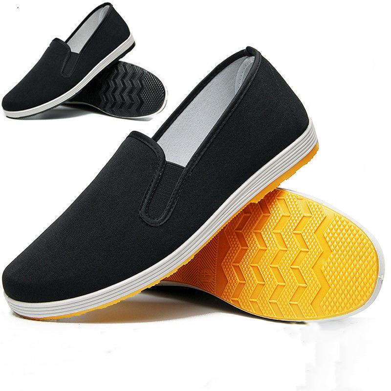 好买一送一/2双装老北京布鞋男春季防滑耐磨软底休闲工作鞋劳保鞋