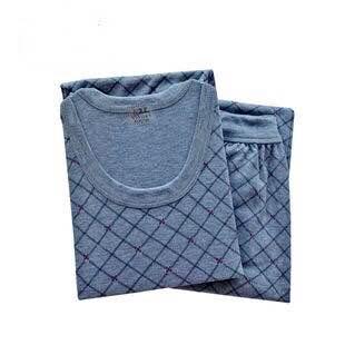 秋衣秋裤男士套装中老年薄款内衣中高领线衣线裤保暖内衣棉毛衫裤