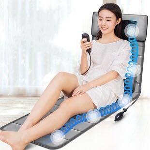 颈椎按摩器全身多功能颈部腰部背部家用椅垫床垫靠垫按摩垫