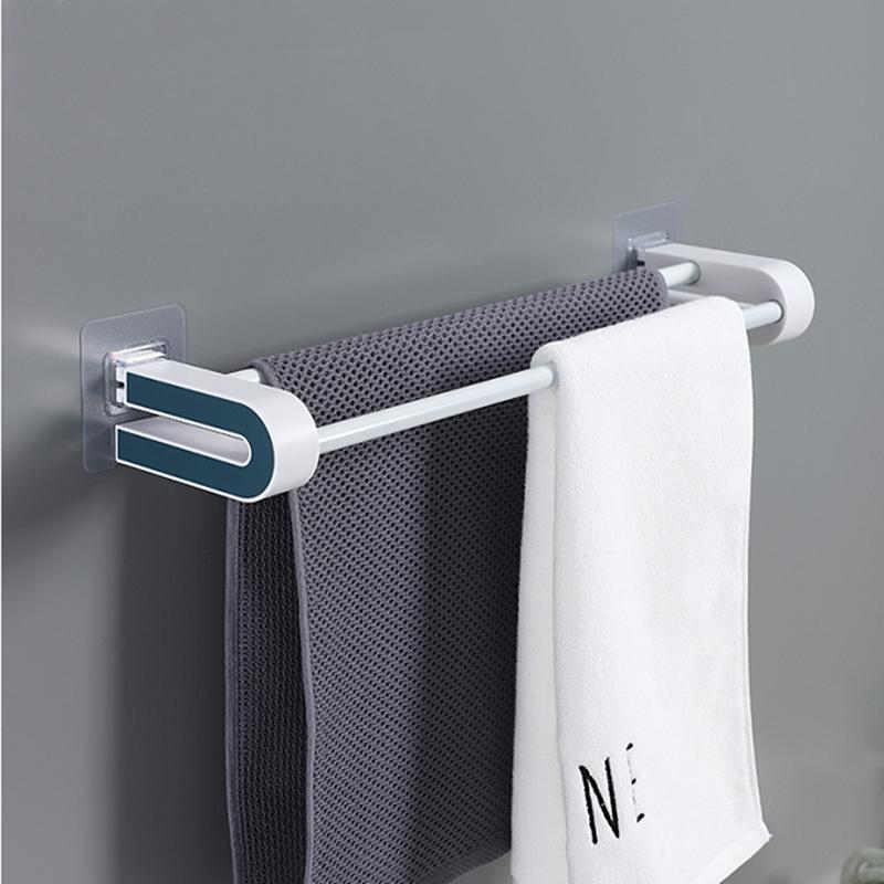 【送4个S挂钩】壁挂式毛巾浴巾架