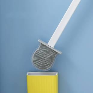 【沃德百惠】马桶刷无死角硅胶洗厕所神器