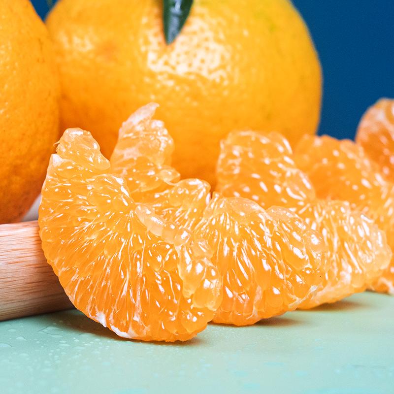 四川蒲江耙耙柑春见新鲜水果5斤包邮蜜粑粑丑桔橘子爆甜当季整箱