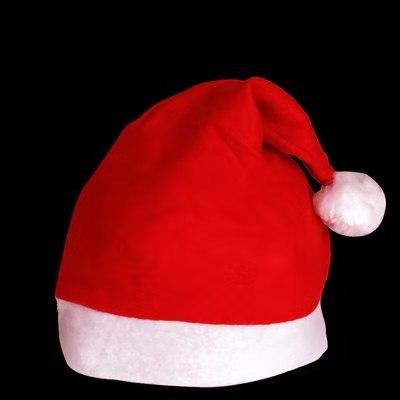 卡通圣诞帽子儿童成人节日装饰品小雪人发光头饰活动礼品道具厂家