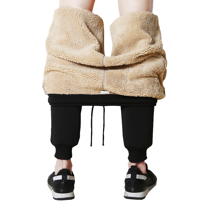 裤子男加绒男裤宽松束脚裤运动卫裤哈伦长裤男士休闲裤2020秋冬