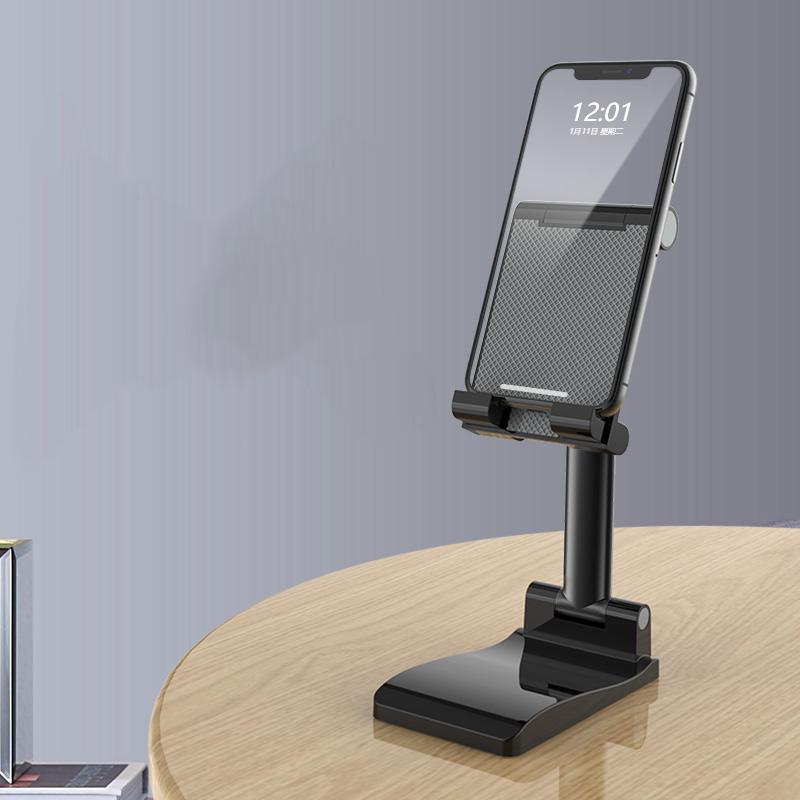 手机支架桌面懒人直播架子苹果ipad平板电脑ipad托架床头多功能通用支撑架家用折叠升降可调节便携化妆镜支架
