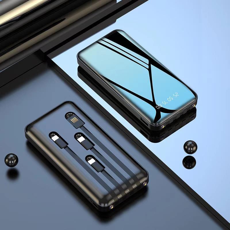 充电宝20000毫安超薄大容量小巧便携移动电源适用于vivo小米oppo华为苹果专用迷你手机快充超大1000000容量