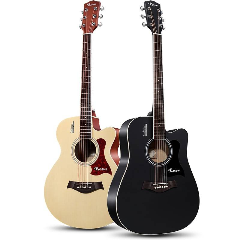 卢森面单板木吉他民谣吉他41寸初学者新手入门吉它男女生专用乐器