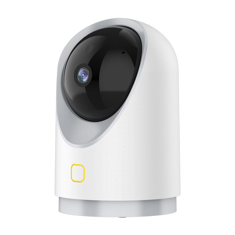乔安360度全景摄像头连手机远程高清夜视无线家用监控器无死角