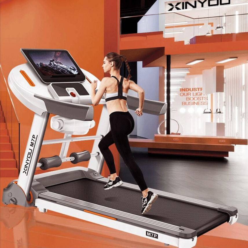 华为生态跑步机男女家用款宿舍折叠超静音家庭式室内健身房专用