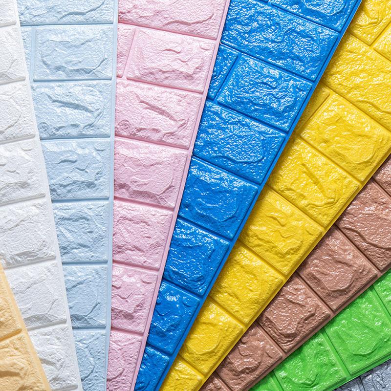 墙壁墙纸自粘3d立体墙贴房间卧室家用背景墙防水防潮墙围贴纸自贴