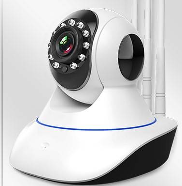 无线监控摄像头家用室外高清夜视无需网络连手机远程360度监控器