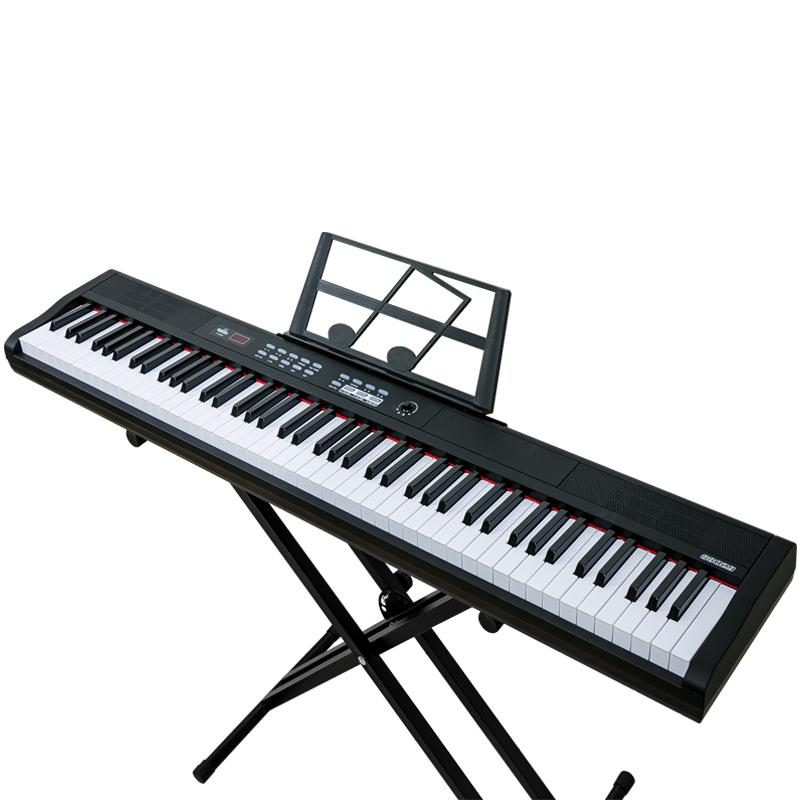 斯帕勒充电61键多功能专业电子琴初学者成年人儿童入门幼师电钢