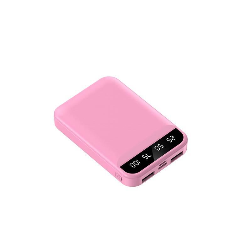充电宝20000毫安自带线三合一超薄小巧便携迷你快充移动电源