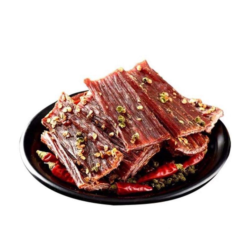 风干牛肉干四川特产内蒙古超干手撕牦牛肉干250g麻辣西藏耗牛零食