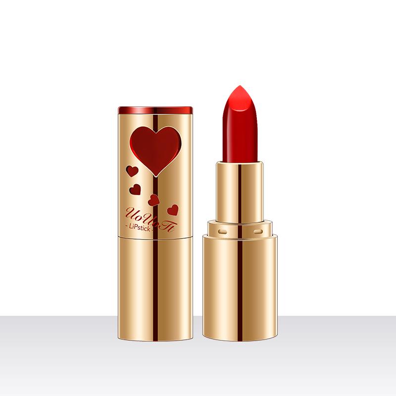 炙恋热吻口红 轻柔丝滑不油腻锁色绚丽色调女学生口红